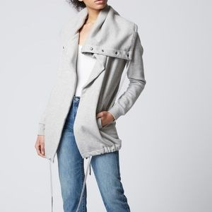 NWT Blank NYC Salt & Pepper Gray Cardigan Sweater